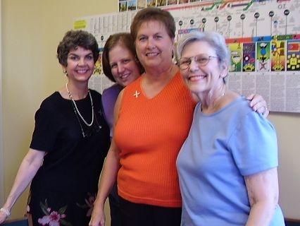 Rebecca, Marci, Peggy, and Beverley