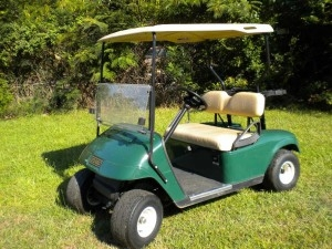 You can win this EZgo golf cart from Southern Golf Services in LaGrange!