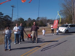 Marching in the MLK Parade