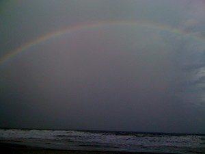 The rainbow at Cumberland