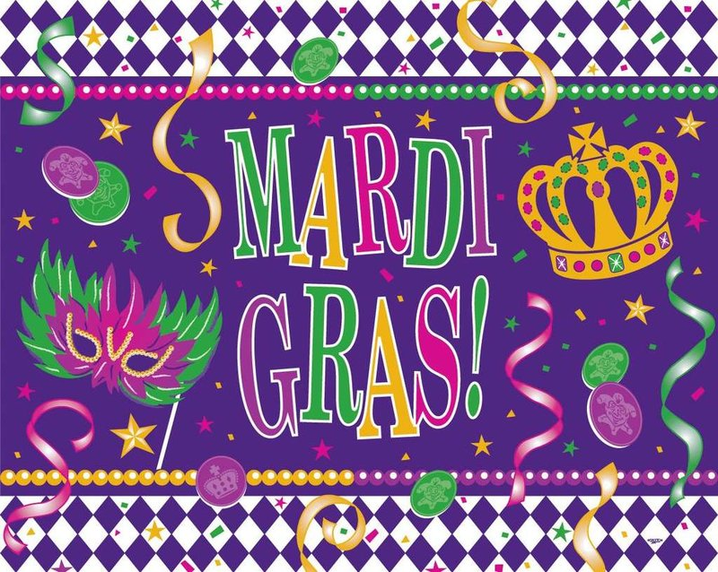Mardi Gras Celebration February 13th