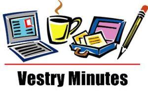 Vestry-Minutes