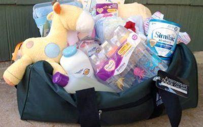 Journey Bags for Foster Children