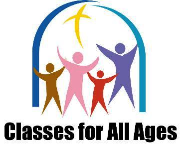 Christian Formation classes for all ages start September 10th!