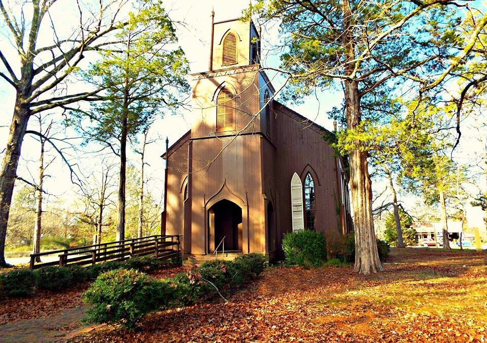 Worship at Zion Episcopal Church, Talbotton October 1 at 4:00pm