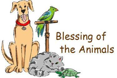 St. Francis Day Blessing of the Animals October 4th at 5:30pm