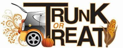 Trunk or Treat Tuesday, October 31, 5:30 – 7:30pm