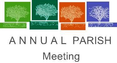 Annual Parish Meeting Sunday, January 14th!
