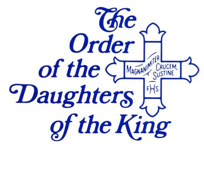 Daughters of the King   St. Nicholas Episcopal Church